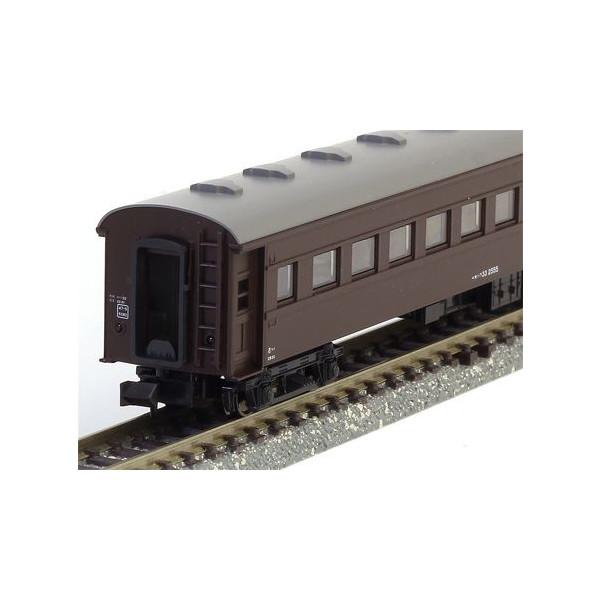 カトー 鉄道模型 記念日 評価 オハ35系 戦後形 オハフ33 KATO Nゲージ 5128-3 茶