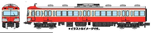 伊豆箱根鉄道 1100系・赤電塗装 3両セット【マイクロエース・A1068】「鉄道模型 Nゲージ MICROACE」