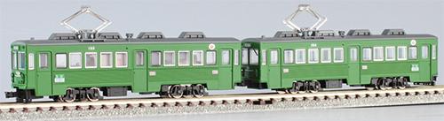 東急 デハ150形 連結2人のり(2両セット)【MODEMO・NT147】「鉄道模型 Nゲージ モデモ」