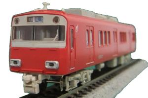 名鉄6500系1~3次車 4輛編成動力付きトータルセット(塗装済組立キット)【グリーンマックス・1201T】「鉄道模型 Nゲージ GREENMAX」