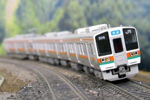JR211系5000番台4両編成セット(動力付き)【グリーンマックス・30036】「鉄道模型 Nゲージ GREENMAX」