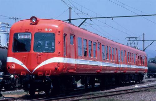 岳南電車5000系 赤ガエル・改良品 2両セット【マイクロエース・A0482】「鉄道模型 Nゲージ MICROACE」