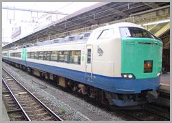 JR東日本485系3000番代 はくたか 9輌セット 【エンドウ・ES280】「鉄道模型 HOゲージ 金属」