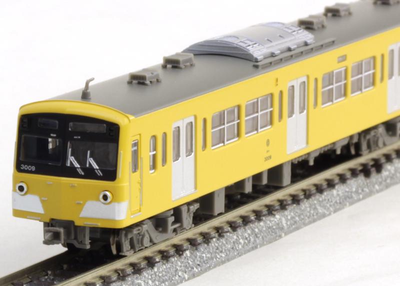 西武3000系 新色・スカートなし 8両セット【マイクロエース・A7691】「鉄道模型 Nゲージ MICROACE」