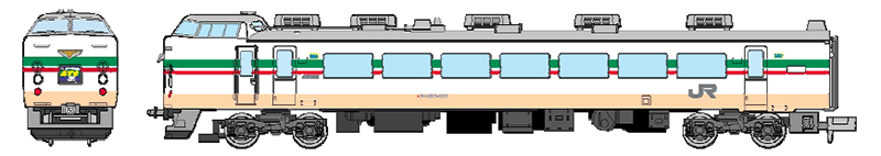 183系-100・1000 グレードアップ旧あずさ色 特急あずさ 9両セット 【マイクロエース・A0572】「鉄道模型 Nゲージ MICROACE」