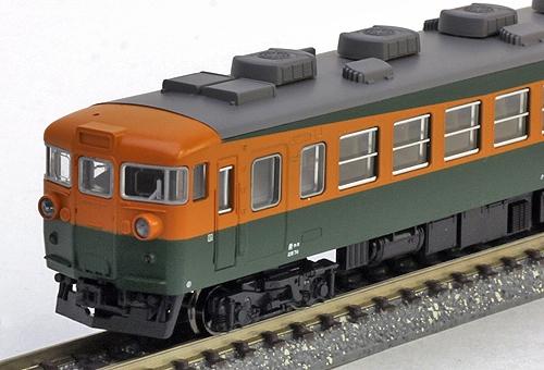 165系 飯田線 急行「伊那」 4両セット 【KATO・10-1335】「鉄道模型 Nゲージ カトー」