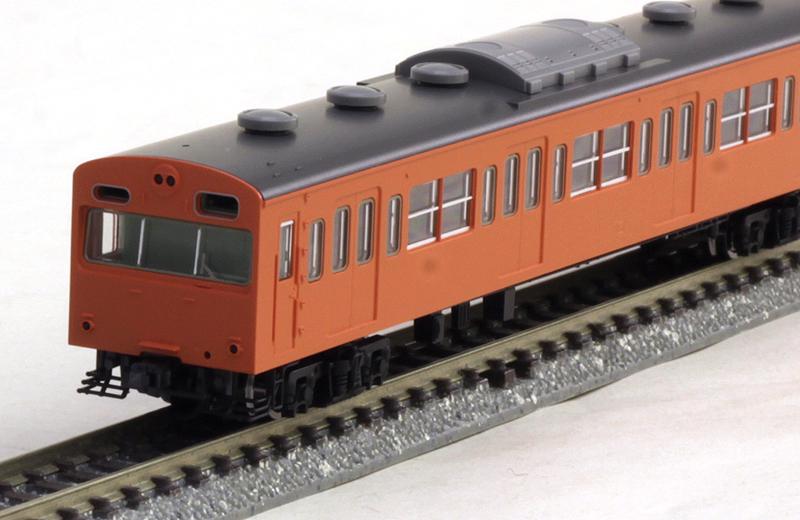 103系通勤電車(初期型冷改車・オレンジ)基本4両セットB 【TOMIX・92528】「鉄道模型 Nゲージ トミックス」