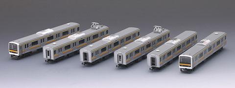 209系通勤電車(南武線)セット(6両)【TOMIX・92794】「鉄道模型 Nゲージ トミックス」