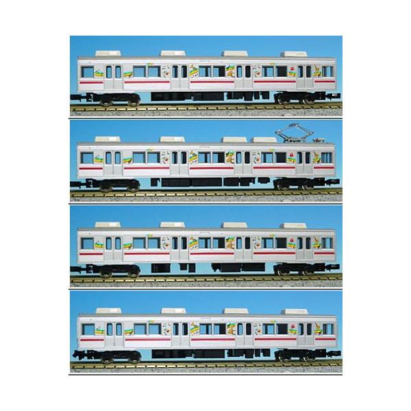 東急8500系TOQ-BOX 4両増結用中間車セット【グリーンマックス・4179】「鉄道模型 Nゲージ GREENMAX」