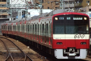 京急600形(更新車)8両編成セット(動力付き)【グリーンマックス・30178】「鉄道模型 Nゲージ GREENMAX」