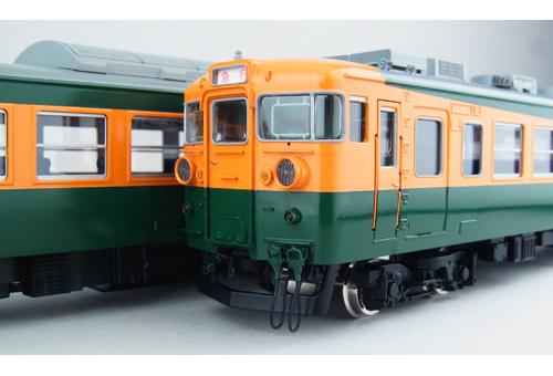 国鉄165系 冷房改造車 サハシ165 【カツミ・KTM-251】「鉄道模型 HOゲージ 金属」