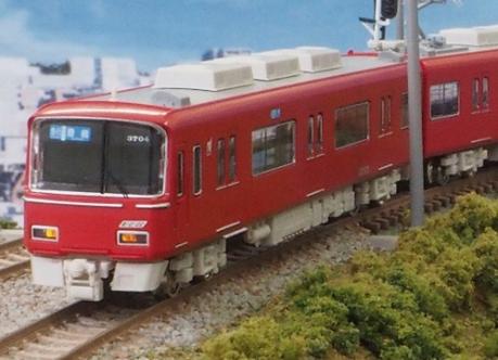 名鉄3700系2次車 増結4両編成セット(動力無し) 【グリーンマックス・30531】「鉄道模型 Nゲージ GREENMAX」