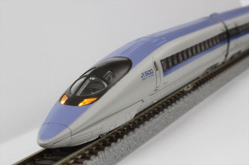 500系新幹線V編成 こだま 3両基本セット 【ロクハン・T013-1】「鉄道模型 Zゲージ ロクハン」