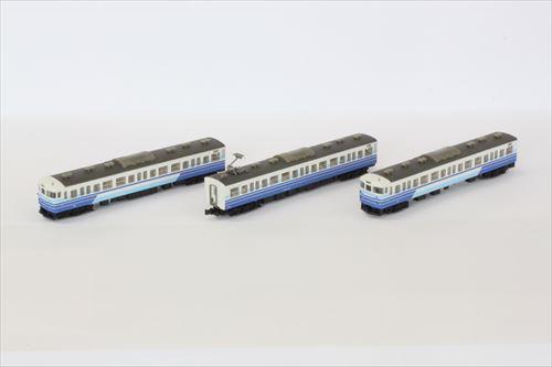 115系1000番代 新新潟色 3両セット【ロクハン・T011-2】「鉄道模型 Zゲージ ロクハン」