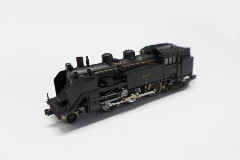C11 3次型標準タイプ 【ロクハン・T019-1】「鉄道模型 Zゲージ ロクハン」