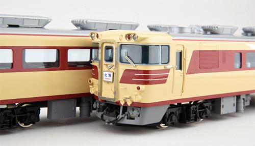 国鉄キハ82系 キハ80M 完成品 【カツミ・KTM-332】「鉄道模型 HOゲージ」