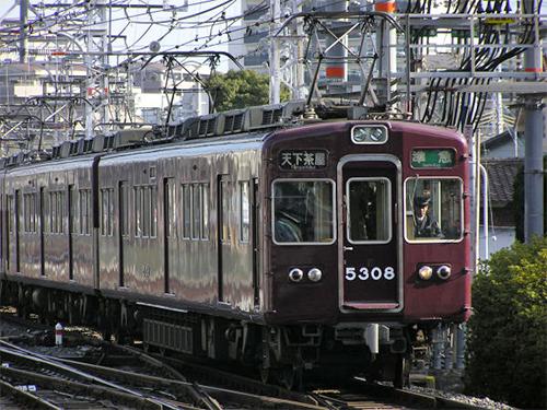 阪急5300系 完成品 中間T車単品【カツミ・KTM-350】「鉄道模型 HOゲージ」