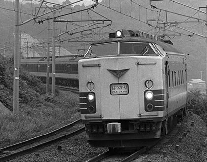 国鉄583系寝台特急電車 モハネ583 完成品【カツミ・KTM-358】「鉄道模型 HOゲージ」