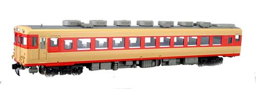 国鉄 キハ58 冷房改造車(M準) 【エンドウ・D532】「鉄道模型 HOゲージ 金属」