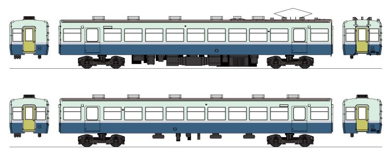 16番 伊豆急100系キット Cセット 中間車2両  【メディアリンクス・320029】「鉄道模型 HOゲージ」