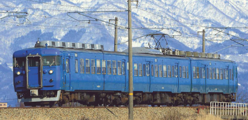 クハ455-700+413系・青 3両セット  【マイクロエース・A0048】「鉄道模型 Nゲージ MICROACE」