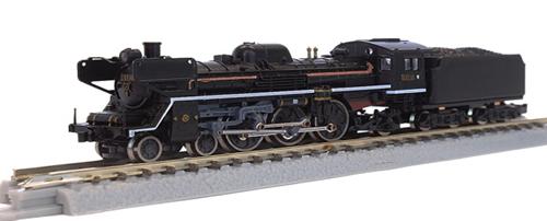 国鉄C57形 蒸気機関車111号機タイプ(門デフ) 【ロクハン・T027-2】「鉄道模型 Zゲージ ロクハン」