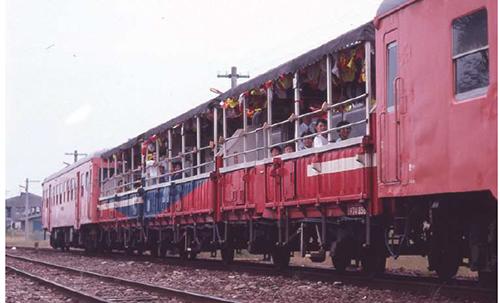 キハ47+三角線トロッコ列車 5両セット 【マイクロエース・A1466】「鉄道模型 Nゲージ MICROACE」