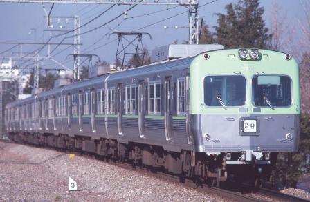 京王3000系・帯入り・ライトグリーン 5両セット 【マイクロエース・A6562】「鉄道模型 Nゲージ MICROACE」