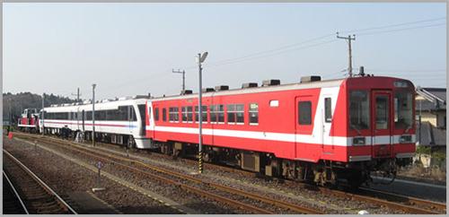 鹿島臨海鉄道6000形2次型(側面方向幕付・M)【エンドウ・D077】「鉄道模型 HOゲージ 金属」