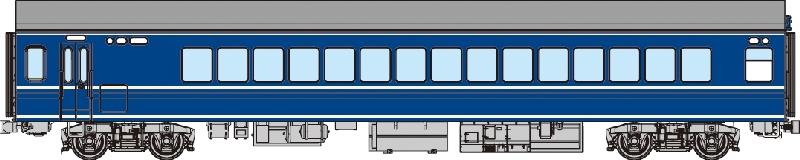 ナハフ21【トラムウェイ・TW20-011】「鉄道模型 HOゲージ」