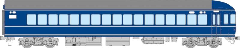 ナハフ20(曲)【トラムウェイ・TW20-012】「鉄道模型 HOゲージ」