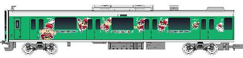 東武50050型(クレヨンしんちゃんラッピングトレイン・マサオくんデザイン)増結用中間車4両セット(動力無し) 【グリーンマックス・50577】「鉄道模型 Nゲージ GREENMAX」