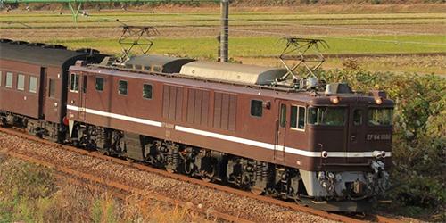 EF64 1000(1001号機・茶色・PS) 【TOMIX・HO-171】「鉄道模型 HOゲージ トミックス」