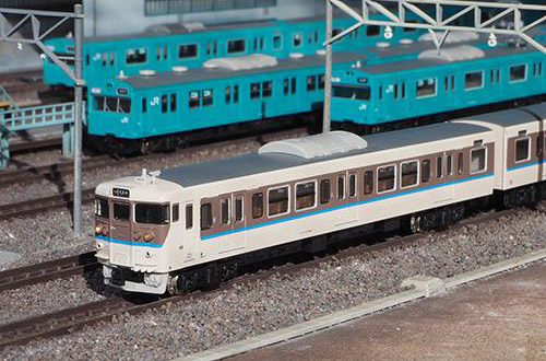 JR113系7000番台(40N体質改善車・更新色・灰色スカート)8両編成セット(動力付き) 【グリーンマックス・50580】「鉄道模型 Nゲージ GREENMAX」