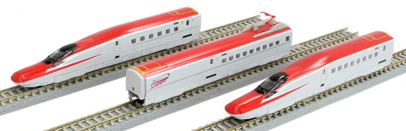 E6系新幹線 こまち 3両基本セット【ロクハン・T029-1】「鉄道模型 Zゲージ ロクハン」
