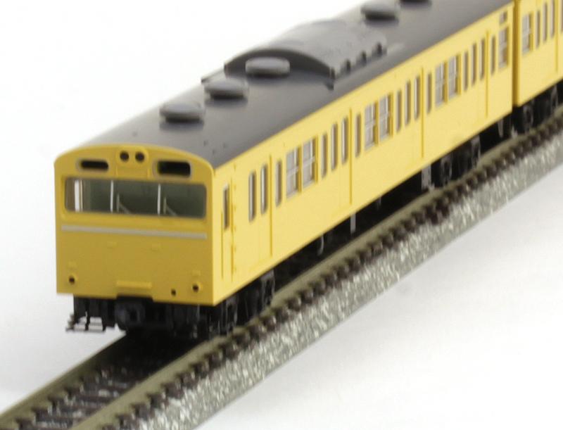 103系通勤電車(高運転台ATC車・カナリア)基本セット (4両)【TOMIX・92543】「鉄道模型 Nゲージ トミックス」