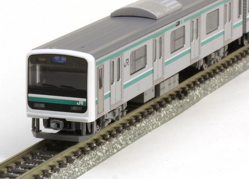 E501系通勤電車(水戸線)セット (5両)【TOMIX・98235】「鉄道模型 Nゲージ トミックス」