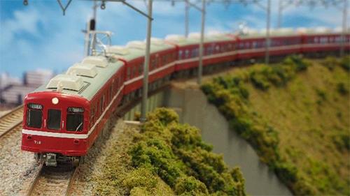 京急700形(2次車・白幕車) 基本4両編成セット(動力付き) 【グリーンマックス・30231】「鉄道模型 Nゲージ GREENMAX」