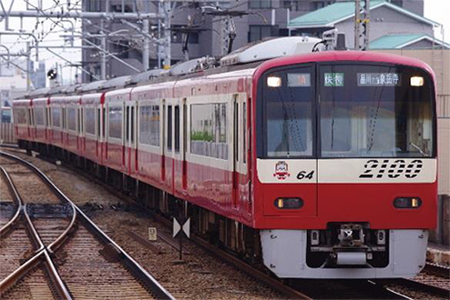京急2100形更新車 8両編成セット(動力付き) 【グリーンマックス・30660】「鉄道模型 Nゲージ GREENMAX」