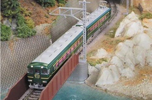 近鉄15400系 かぎろひ 4両編成セット(動力付き)  【グリーンマックス・30250】「鉄道模型 Nゲージ GREENMAX」