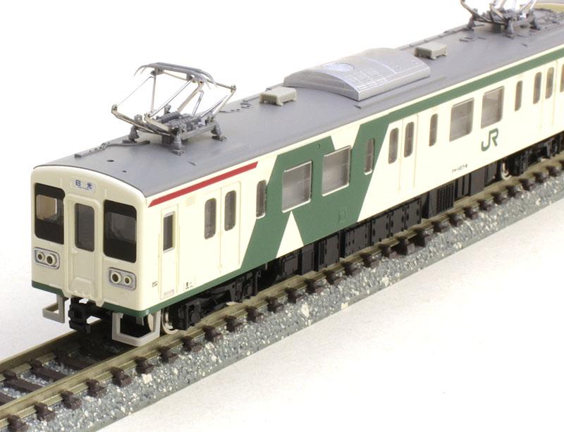 JR107系 0番代 旧塗装 基本2両編成セット(動力付き)【グリーンマックス・4653G】「鉄道模型 Nゲージ GREENMAX」