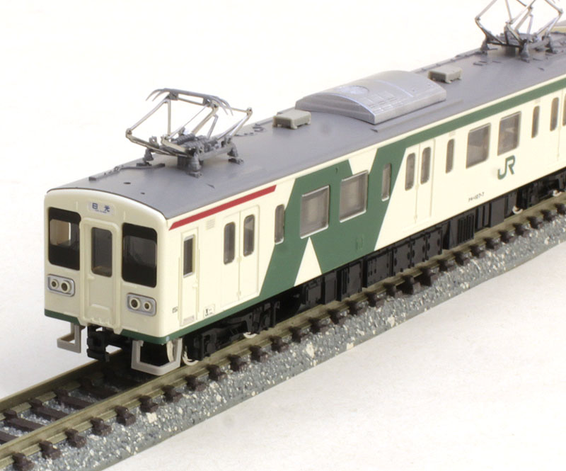JR107系 0番代 旧塗装 増結2両編成セット(動力無し)【グリーンマックス・4654G】「鉄道模型 Nゲージ GREENMAX」