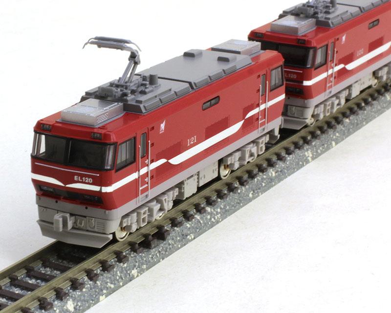 名鉄EL120形電気機関車 2両(M+T)セット(動力付き)  【グリーンマックス・30655】「鉄道模型 Nゲージ GREENMAX」