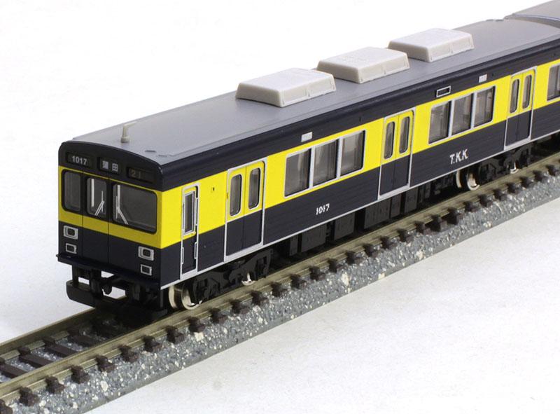 東急1000系(きになる電車)3両編成セット(動力付き)  【グリーンマックス・50565】「鉄道模型 Nゲージ GREENMAX」