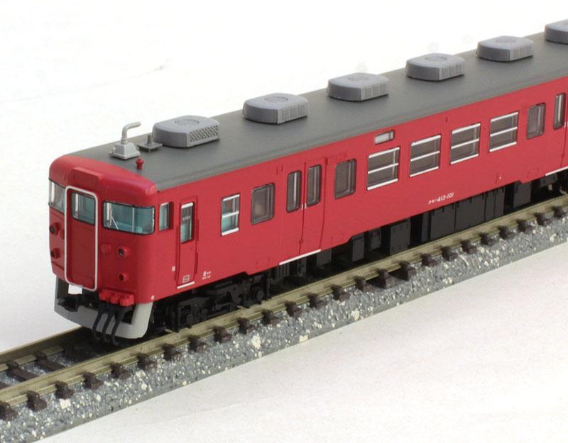 クハ455-700+413系・赤 3両セット   【マイクロエース・A6620】「鉄道模型 Nゲージ MICROACE」