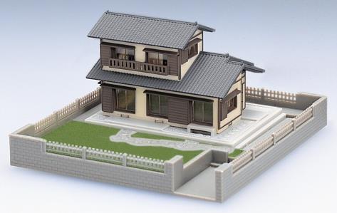 近郊住宅(グレー)【TOMIX・4213T】「鉄道模型 Nゲージ トミックス ストラクチャー」