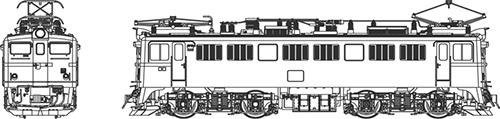 ED71-第2次量産形【トラムウェイ・TW-ED71-2S】「鉄道模型 HOゲージ ディーゼル機関車」
