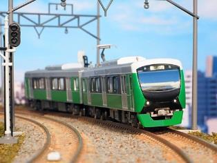 静岡鉄道A3000形(ナチュラルグリーン)2両編成セット(動力付き)  【グリーンマックス・30725】「鉄道模型 Nゲージ GREENMAX」