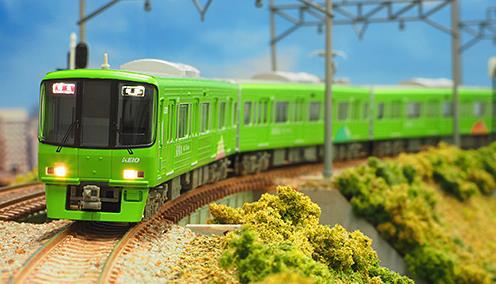 京王8000系(大規模改修車・高尾山トレイン)基本6両編成セットII(動力付き) 【グリーンマックス・50597】「鉄道模型 Nゲージ GREENMAX」