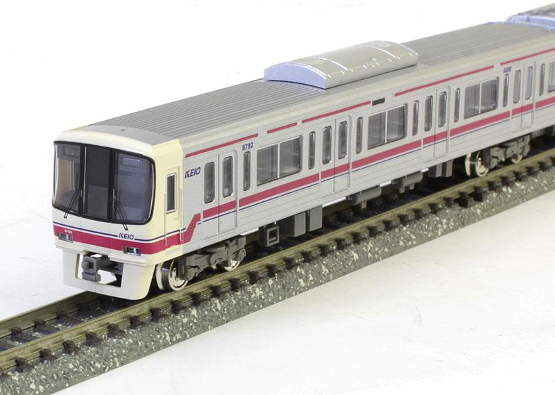 京王8000系(8032編成・ドア交換後)8両編成セット(動力付き) 【グリーンマックス・30727】「鉄道模型 Nゲージ GREENMAX」